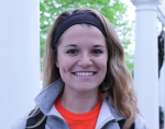 """""""No, absolutely not.  As someone who struggles with registering for classes I don't think they should be able to register early. School should come first over athletics."""" – Maggie Garvey, junior"""