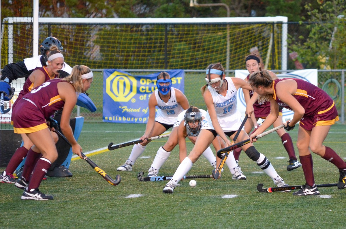 Field hockey: Late offensive rally leads Sea Gulls to 2-1 win