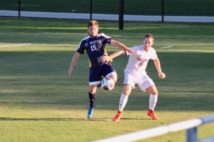 St. Mary's (Md.) vs. Salisbury men's soccer. Oct. 4, 2017. Emma Reider Photo